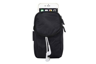 Acheter PHONES - Universal double layer zipper multi-functional leisure style sports arm bag for iphone 6 plus and 6s plus / samsung galaxy s7 edge and s6 e... au meilleur prix au Maroc